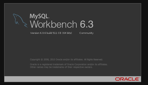 MySQL WorkBench 6.3