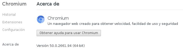 Chromium 50